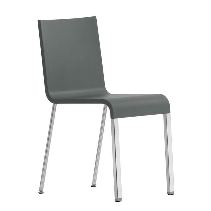 .03 Chaise Vitra en gris argenté/gris