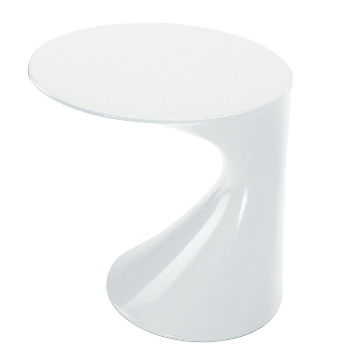 Zanotta - Tod table d'appoint, blanc