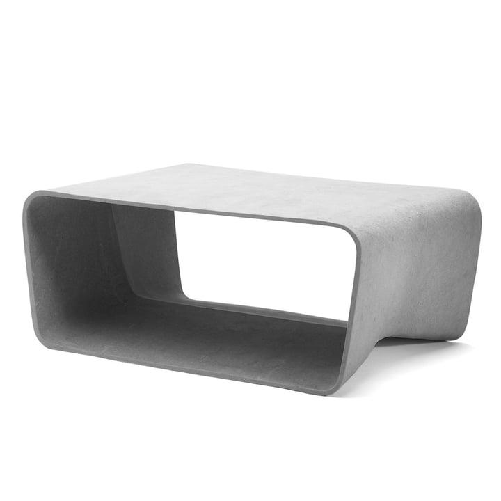 Eternit - table basse Ecal, gris