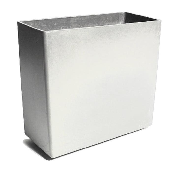 Eternit - Jardinière Twista 60x30x60cm, gris
