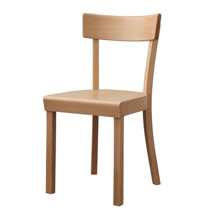 La Chaise de Francfort - hêtre naturel, lacqué mat