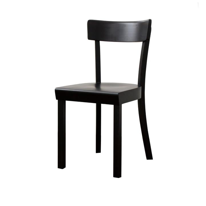 Stoelcker - La Chaise de Francfort, laqué noir mat