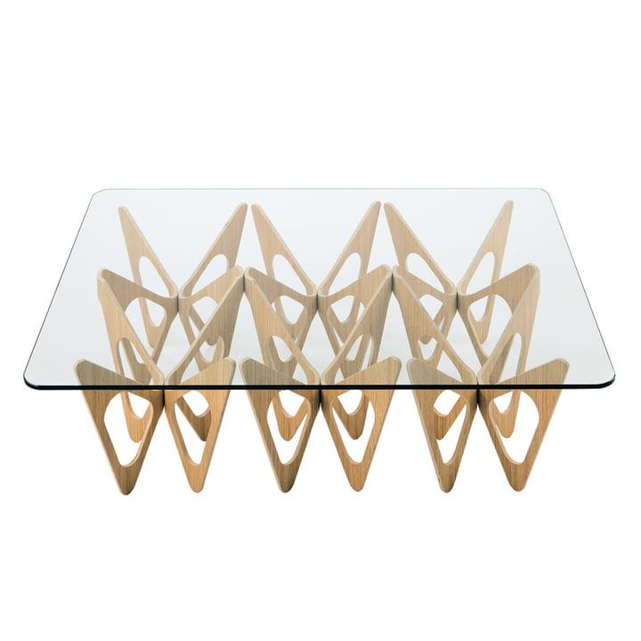 Zanotta - Table basse Butterfly, naturel