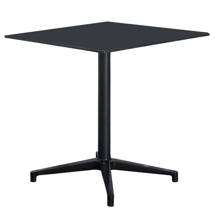 Vitra Bistro Table - intérieur, rectangulaire, 79.6 x 64 cm, noir