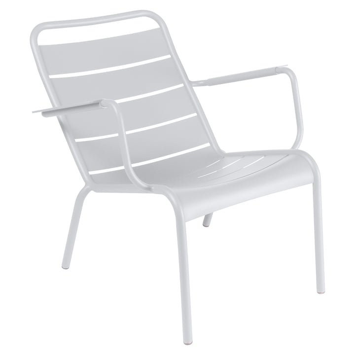 Fermob fauteuil bas Luxembourg, blanc