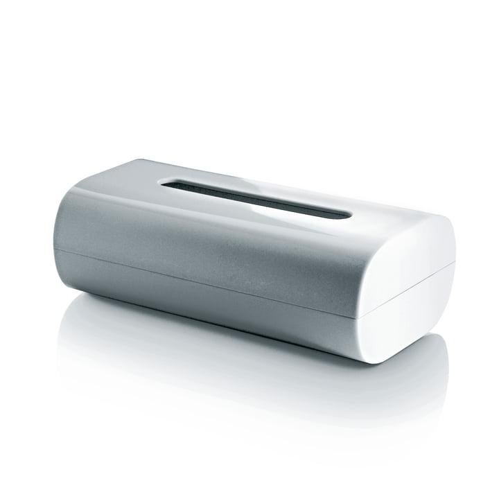 Alessi - Boîte à mouchoirs Birillo, blanc