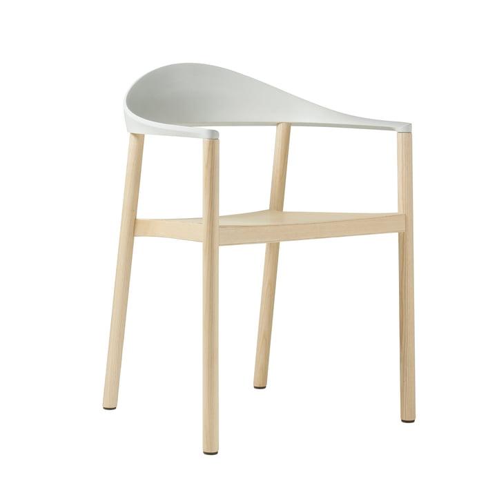 Plank - chaise avec accoudoirs Monza