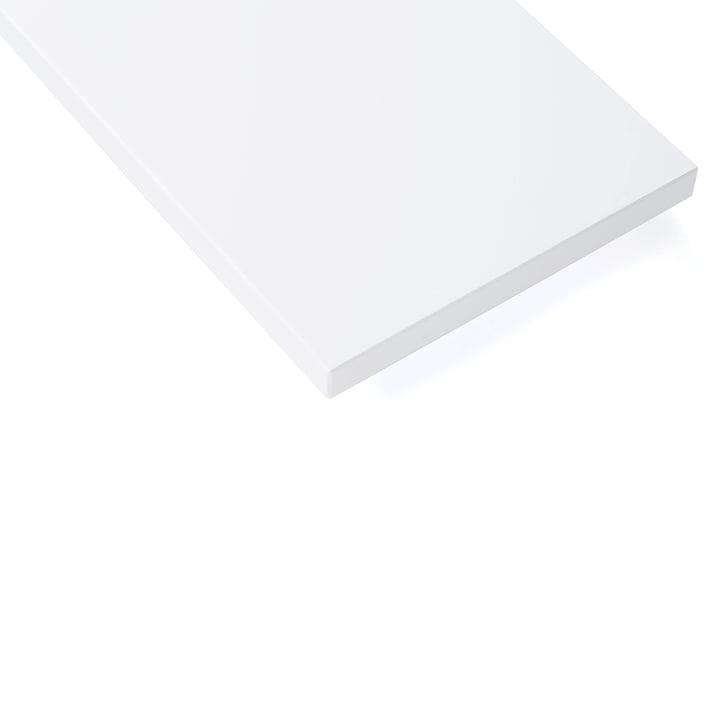 Planches d'étagère (lot de 3) par String laqué blanc