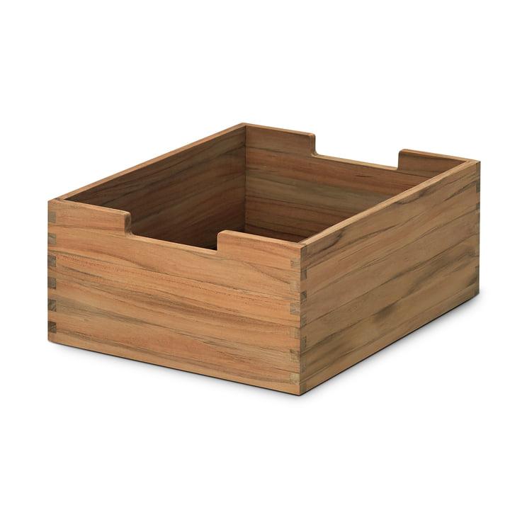 Cutter Box en petit, en teck