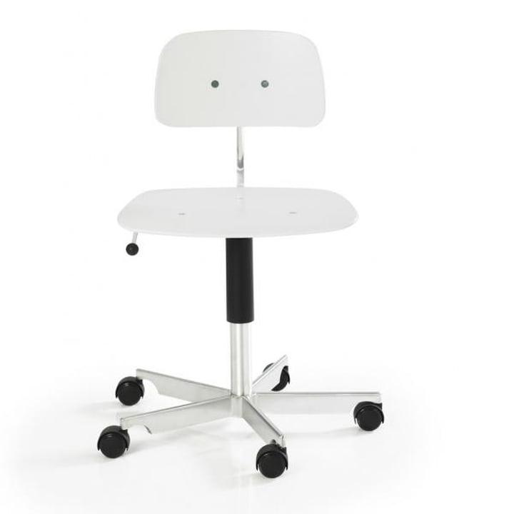 Kevi 2003 Chaise de bureau, blanc
