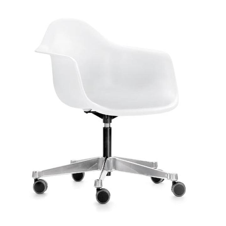 Vitra - Eames chaise à accoudoirs en plastique PACC