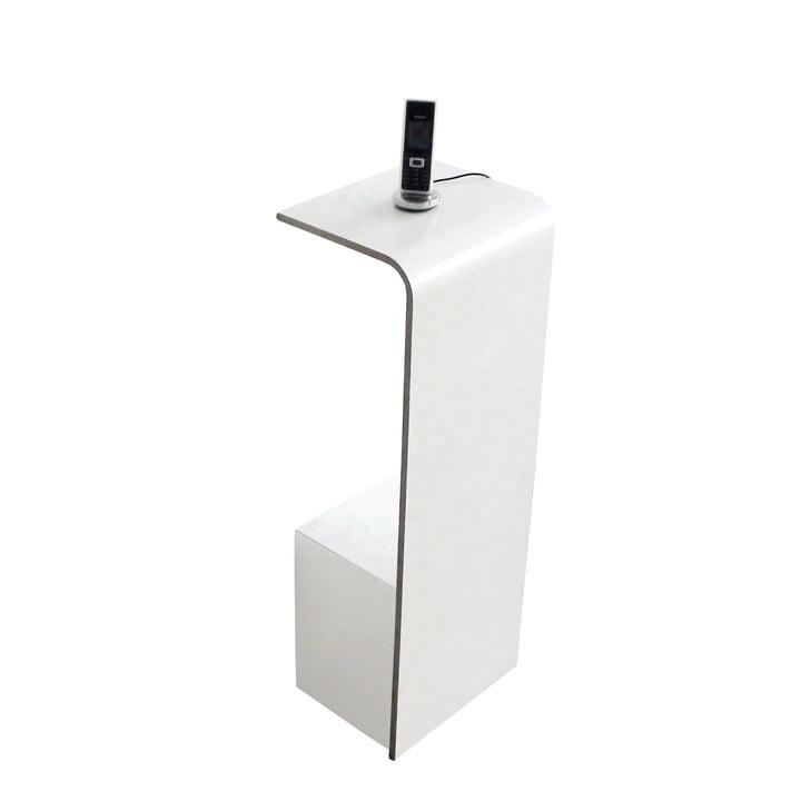 Tojo - Fon table console en blanc