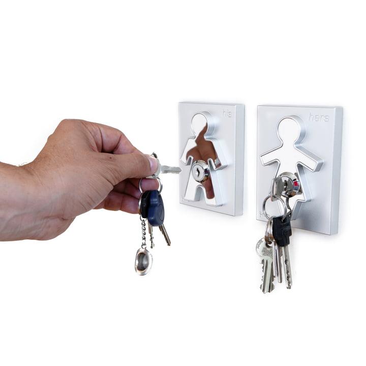 j-me - Porte-clés His / Hers