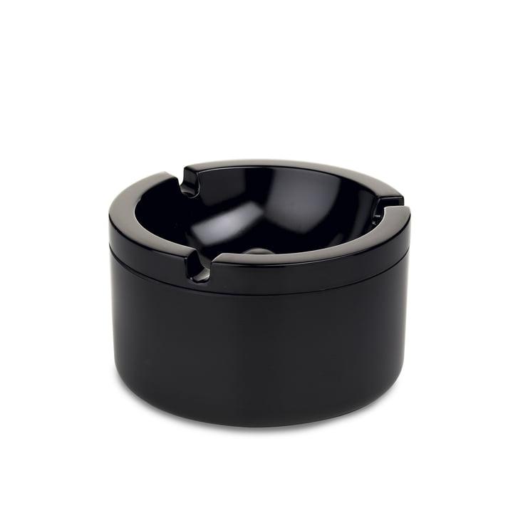 Rosti Mepal - cendrier avec couvercle, noir