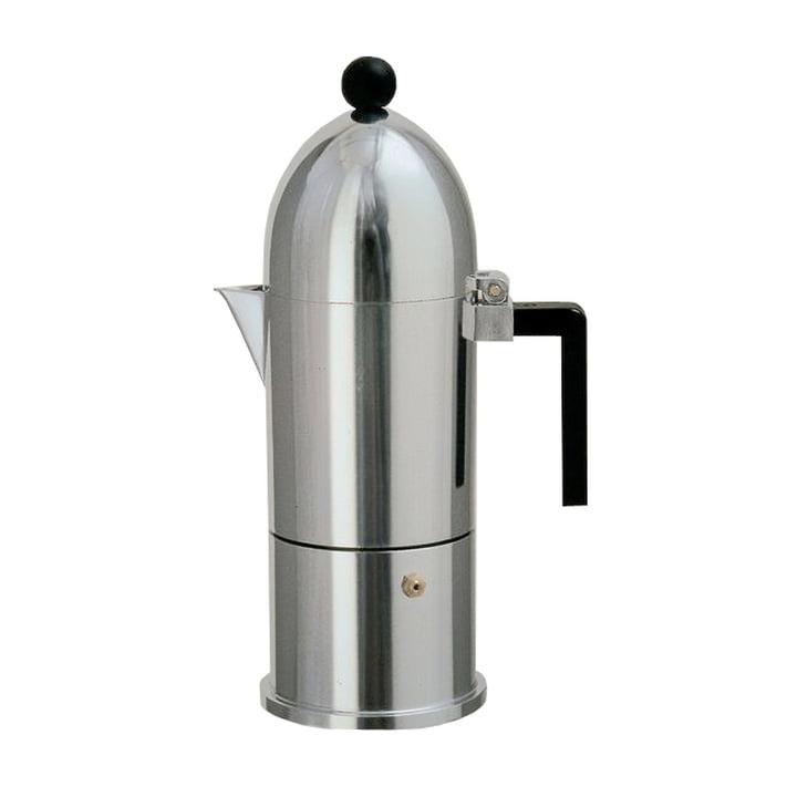A di Alessi - Machine à expresso La Cupola 9095, 15 cl, noir