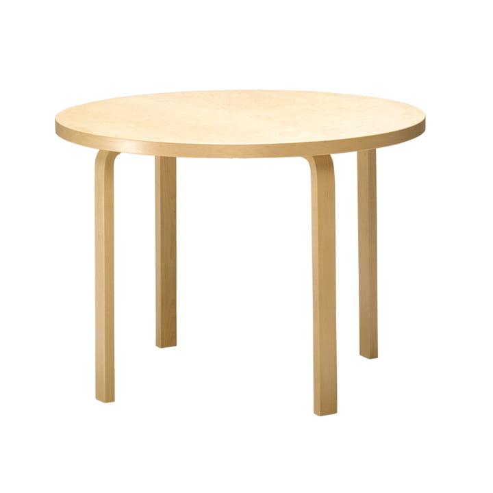 Artek - Table 90A ronde, représentation individuelle