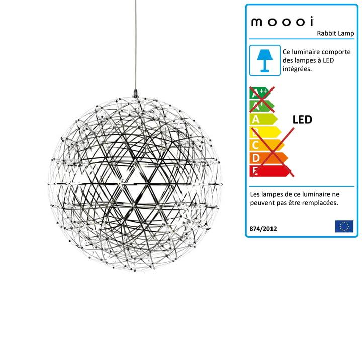 Moooi - Suspension lumineuse Raimond R61