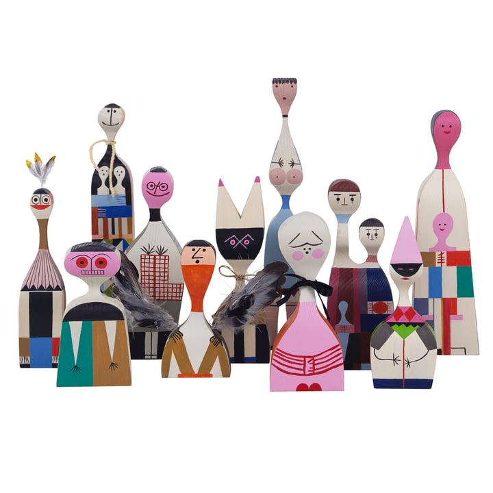 Vitra - Wooden Dolls - tous en groupe
