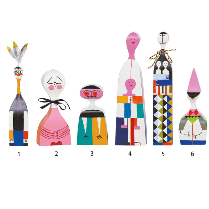 Vitra - Wooden Dolls - Groupe 1-6