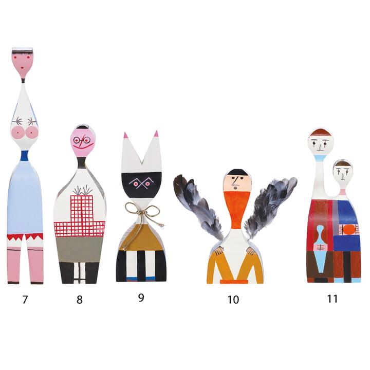Vitra - Wooden Dolls - Groupe 7-11