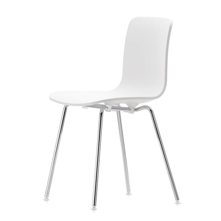 Hal Tube chaise de Vitra en blanc/chrome