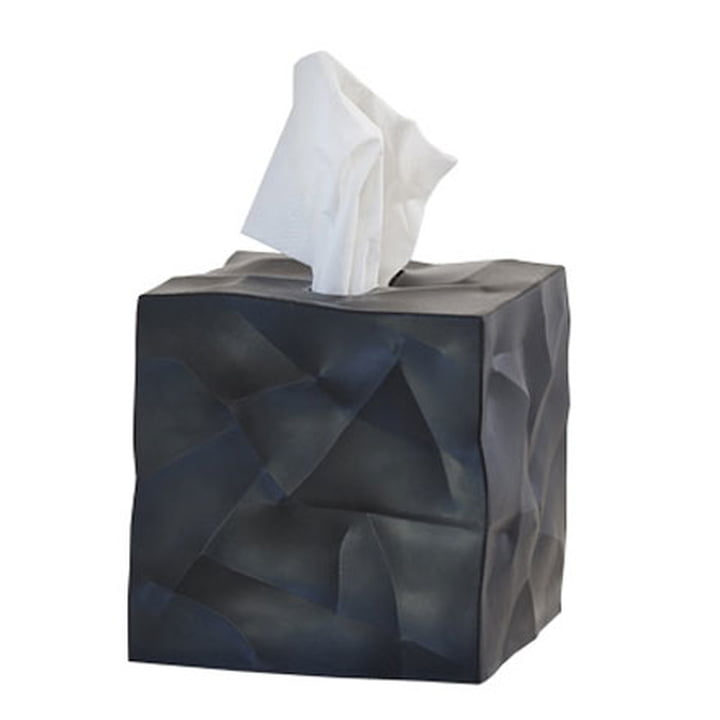 Essey - boîte à mouchoirs Wipy-Cube, noir