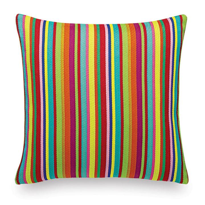 Vitra - coussin Maharam : Millerstripe multicolored bright