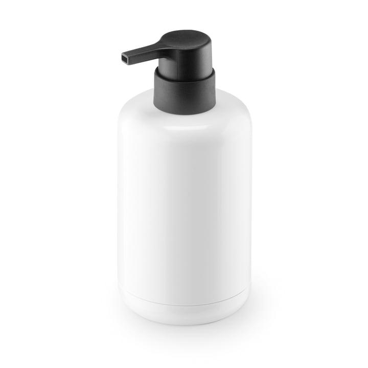 Distributeur de savon Lunar d'Authentics en blanc / noir