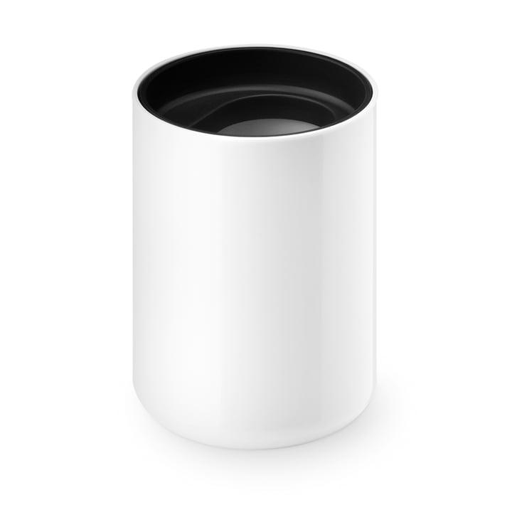 Lunar tasse de Depot4Design brosse à dents de en blanc / noir