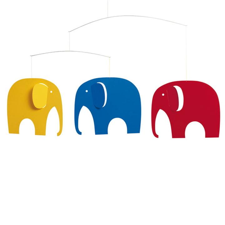 Flensted Mobiles - Mobile Réunion des éléphants