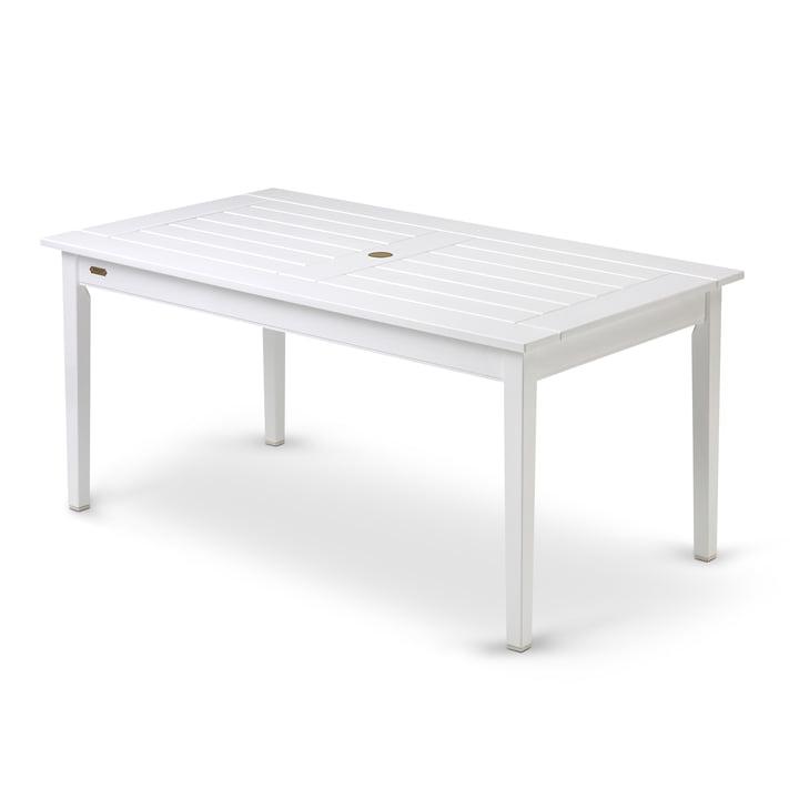 Table rectangulaire Drachmann 156 cm de Skagerak en blanc