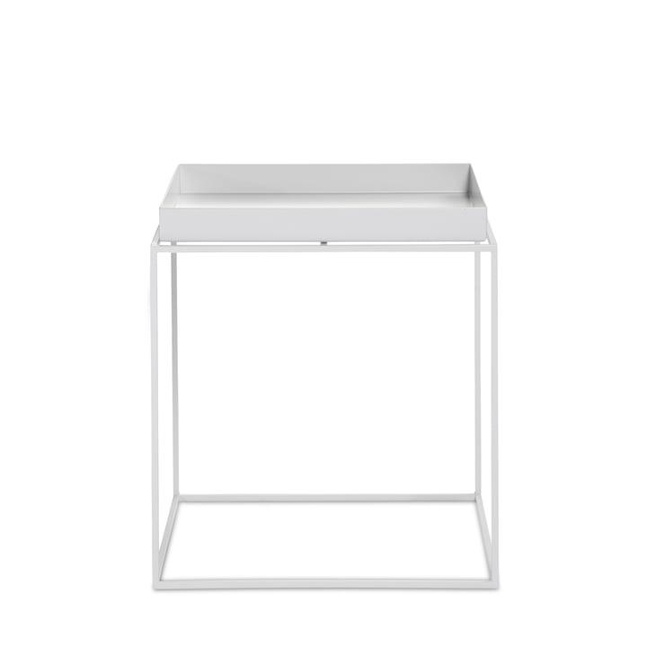 Tray Table 40 x 40 cm de Hay en blanc