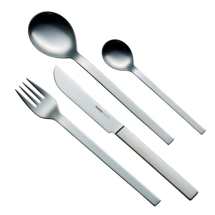 Service de couverts de table mono-a à 4 pièces (longue lame)
