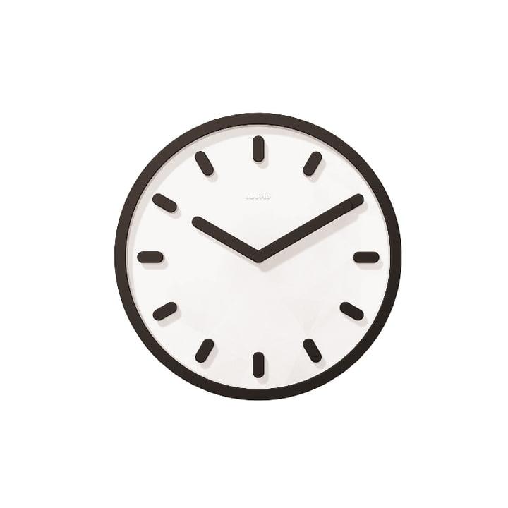 Horloge murale Tempo de Magis en noir