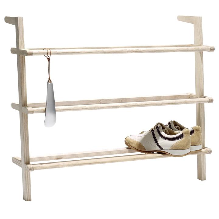 side by side - étagère à chaussures Gaston avec chausse-pied
