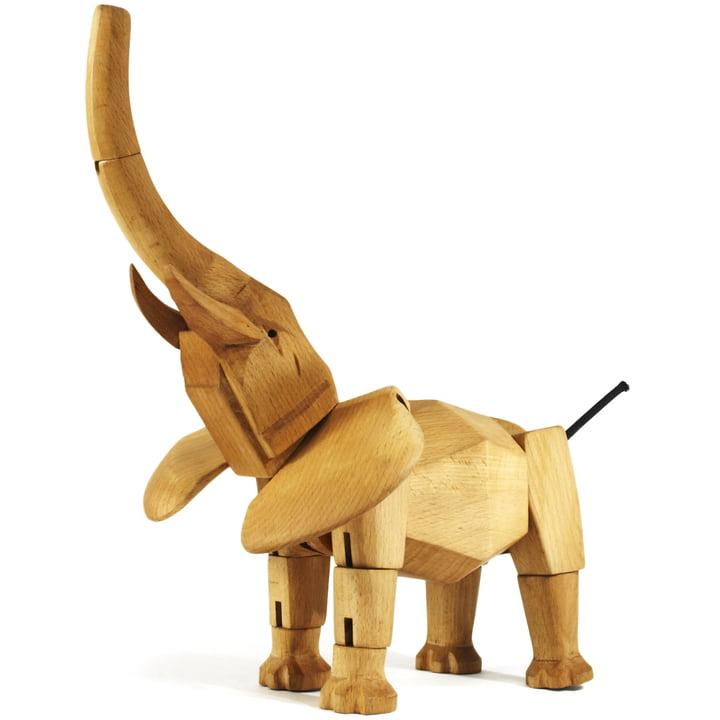Wooden Creatures areaware éléphant 2