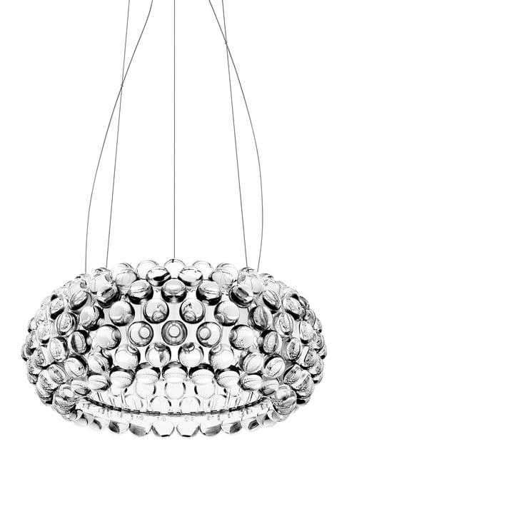 Foscarini - luminaire suspendu Caboche transparent, média