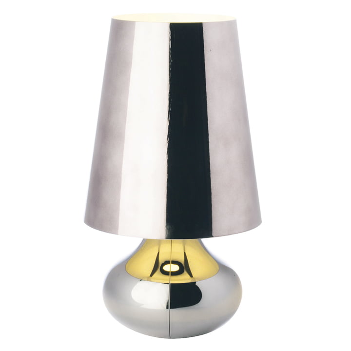 Kartell - Lampe de table Cindy, platine