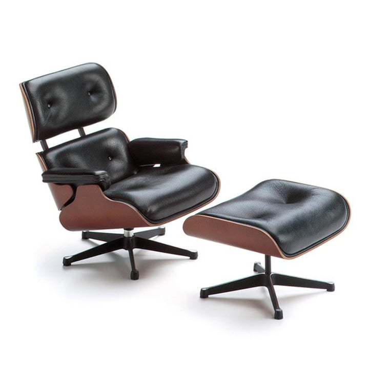 Vitra - Lounge Chair & Ottoman miniature