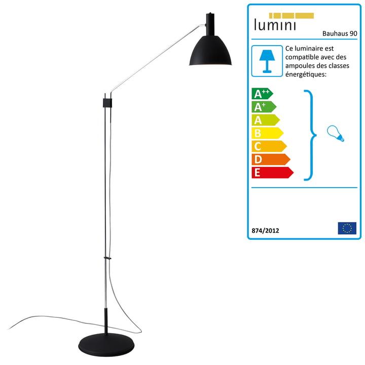 Lumini - Lampadaire Bauhaus 90
