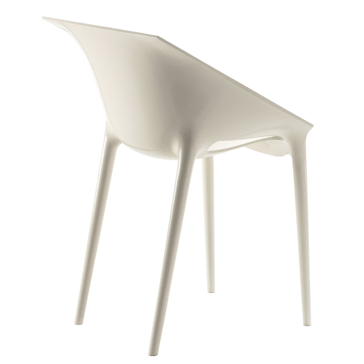 Kartell - Chaise Dr. Yes, blanc