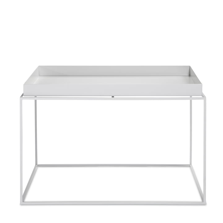 Tray Table 60 x 60 cm de Hay en blanc