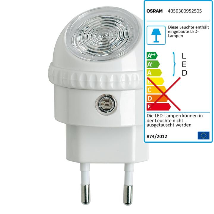 Osram Lampe à LED orientable Lunetta, blanc