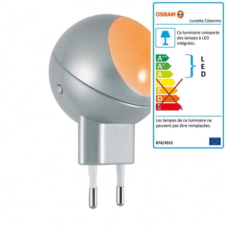 Lampe à LED orientable Lunetta Colormix Osram