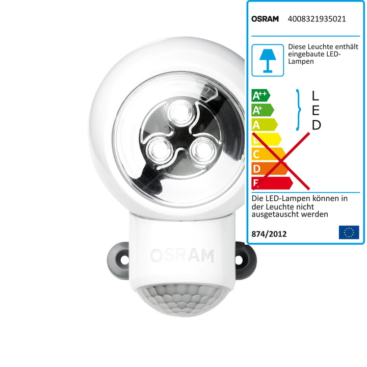 Lampe LED multiusage Spylux d'Osram, blanc