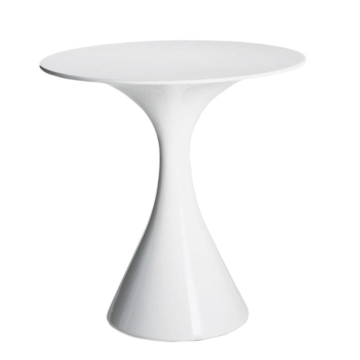 Driade - Table de bistro Kissi Kissi, blanc
