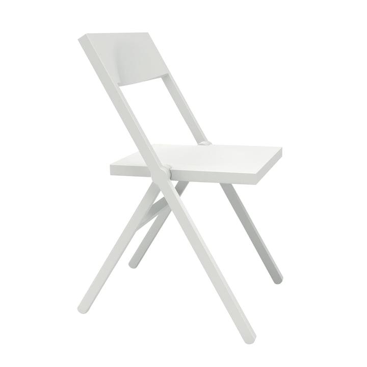 Alessichair - Piana Chaise pliante, blanc