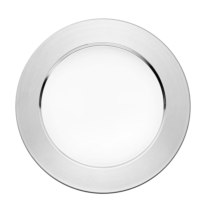 Iittala - Sarpaneva assiette de présentation, acier inoxydable