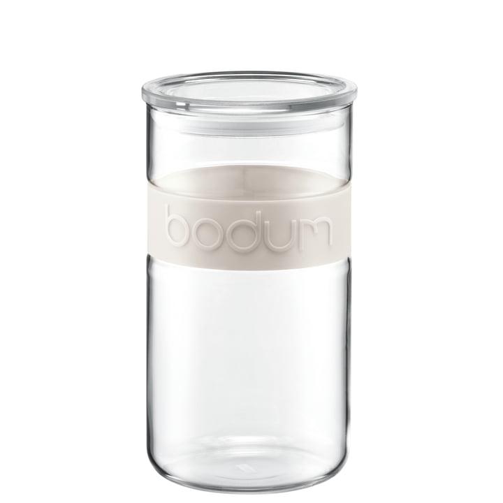 Bodum - Bocal Presso 2 l, couleur crème