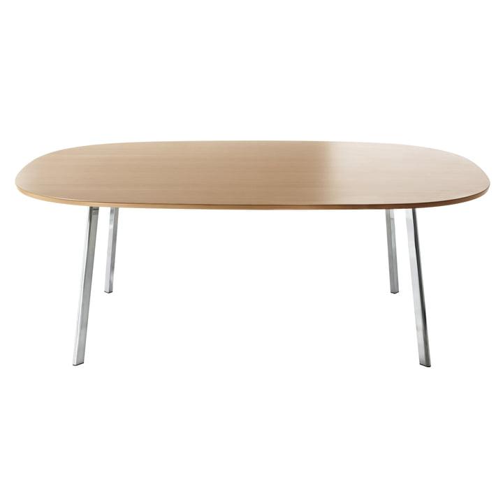 Magis - Table Déjà-vu, 160x98cm, placage chêne